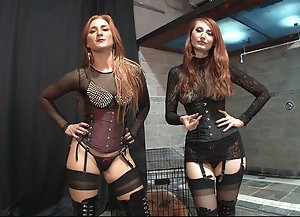 Mistress Kendra James And Goddess Amadahy Instruct and Humiliate