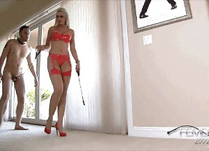 Busty blond legs in sandals gallerys