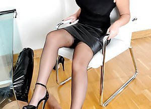 Office Apprentice  - Mistress Heather / Foot Worship / Spanking / CP
